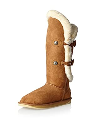 AUStralia Luxe Collective Womens Nordic Angel Tall Shearling Sheepskin Boot (Chestnut)