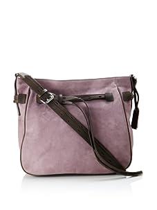 Gryson Women's Marley Long Strap Hobo (Purple Calf)