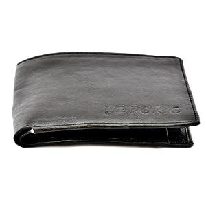 Je Porte 903 Two Tone Black Wallet For Men