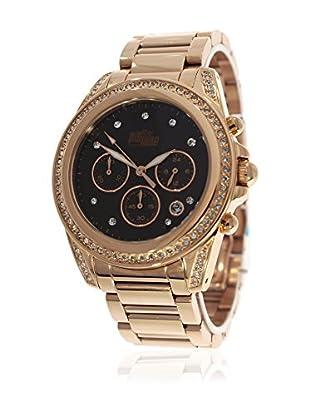 Pit Lane Uhr mit Miyota Uhrwerk Pl-4000-2 rosé 40 mm