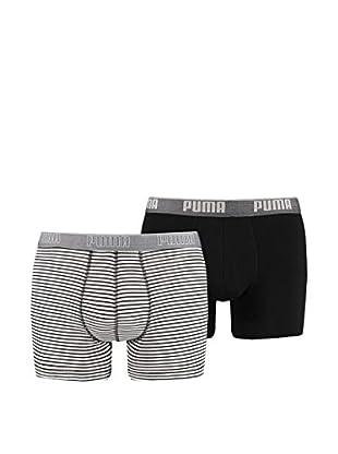 Puma 4tlg. Set Boxershorts Stripe 0204