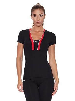 Naffta Camiseta Manga Corta Gren (Negro / Rojo)