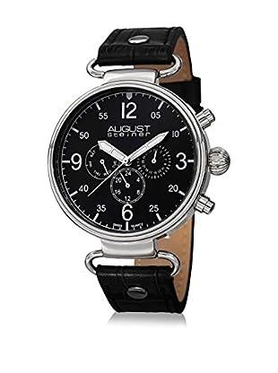 August Steiner Reloj con movimiento cuarzo suizo Man AS8131SSB 45 mm