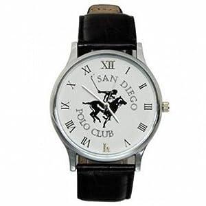 Branded Polo Club San Dieco White Dial Men's Watch