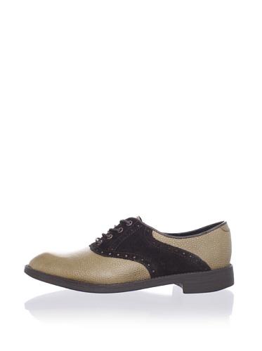 Swear  Women's Women's Saddle Shoe (Khaki/Brown)