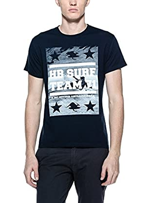 Hot Buttered Camiseta Manga Corta Surf Picture