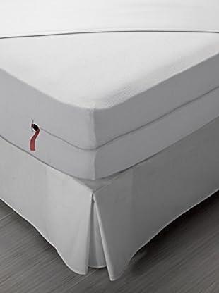 Pikolin Home Copri-Guanciale Copri-Materasso Impermeabile E Traspirante, Protezzione Totale 90X190