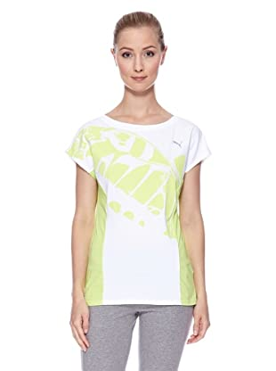 PUMA Trainingsshirt Move (white/sharp green)