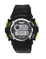 Ego by Maxima Digital Black Dial Men's Watch - E-37161PPDN