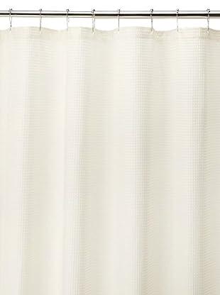 Espalma Waffle Shower Curtain, Natural
