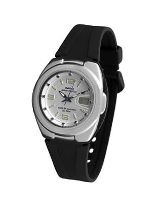 CASIO 19602 WVQ-201HE-7B - Reloj Caballero cuarzo caucho dial