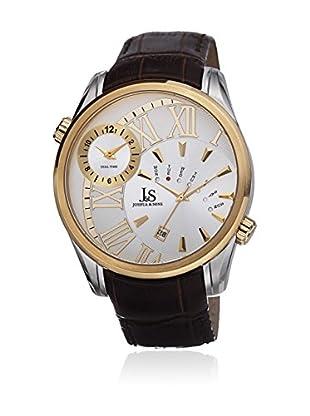 Joshua & Sons Uhr mit Japanischem Quarzuhrwerk JS72YG 48 mm