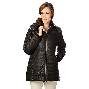 People Women's Blouson Jacket (P20402114703100_Black_M)