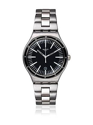Swatch Reloj de cuarzo Unisex Mire Noire  42.7 mm
