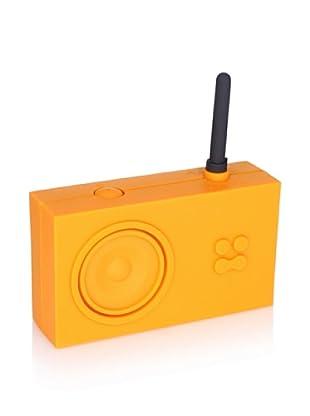 Lexon Tykho Rubber Radio, Orange