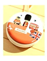 England Themed Metal Tin Pouch For Earphone Pouch Case Bag Coins Memory Card Pouch Pendrive Bag Pouch Case , Jewllery Pouch Bag Case Wallet Pouch