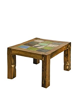 Foreign Affairs Square Dili Reclaimed Boatwood  Coffee Table, Various