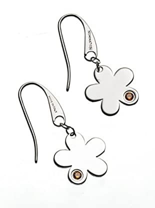 Nomination Pendientes Flowers Naranja