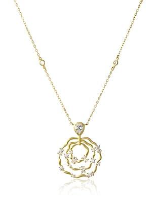 Belargo Multi Circle Drop Necklace