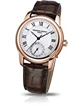 Frederique Constant Analogue White Dial Men's Watch - FC-710MC4H4