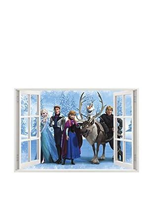 LO+DEMODA Wandtattoo Window Of Frozen