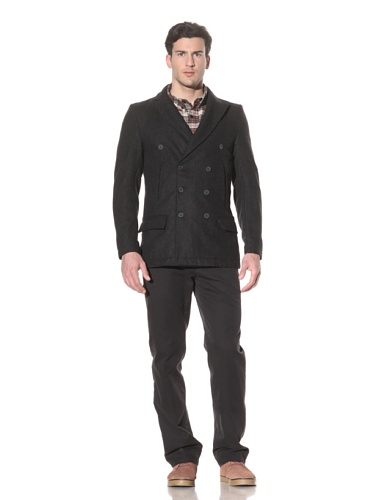 Standard Issue by Hyden Yoo Men's Croaker Coat (Grey)
