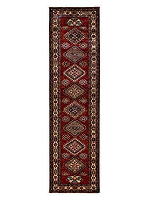Darya Rugs Fine Kazak Oriental Rug, Red, 2' 7