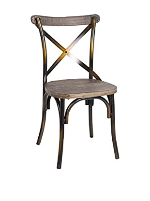 LO+DEMODA Silla Bistró Antique Marrón / Madera