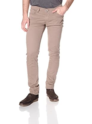 James Jeans Men's Tom Slim Fit Twill Pants (Classic Taupe)