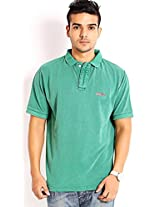 Skatti Pure Green Dyed Polo