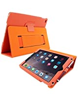 iPad Pro 9.7 Case, Snugg™ - Smart Cover with Flip Stand & Lifetime Guarantee (Orange) for Apple iPad Pro 9.7 (2016)