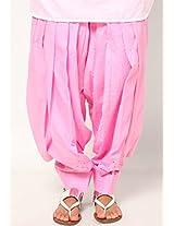 Castle Women's Salwar (Baby Pink_Free Size)
