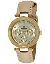 Daniel Klein Analog Gold Dial Women's Watch - DK10936-1