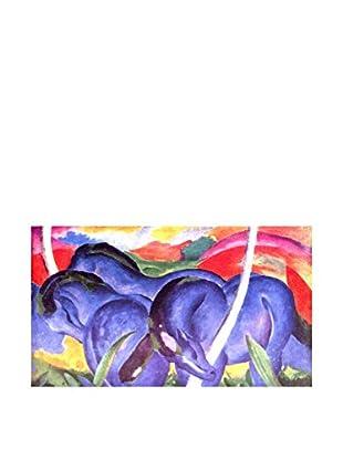 Legendarte Leinwandbild Grandi Cavalli Azzurri