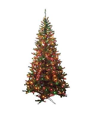 Kurt Adler 6.5' Pre-Lit Sugar Pine Multi Tree
