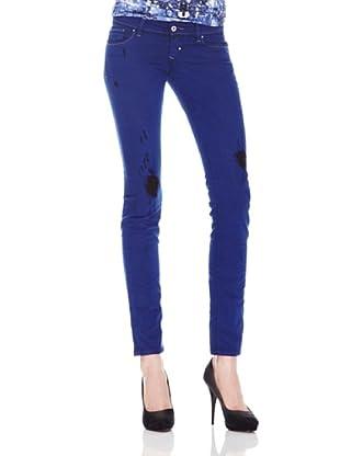 Salsa Jeans Classy Very Low Slim (Azul)