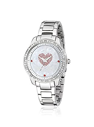 Just Cavalli Women's R7253196503 Shiny Silver Stainless Steel Watch