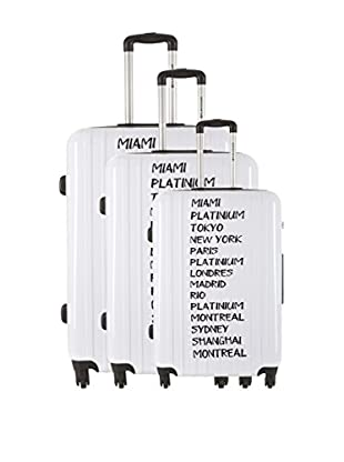PLATINIUM 3er Set Hartschalen Trolley Backlow