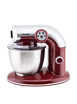h.koenig Robot De Cocina KM80 Rojo