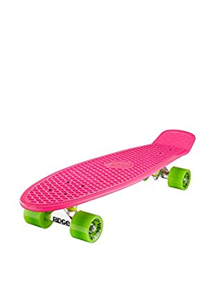 Ridge Skateboards Monopatín Big Brother Cruiser Fucsia / Verde
