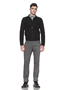 Comune Men's Braydon Canvas Jacket (Black)