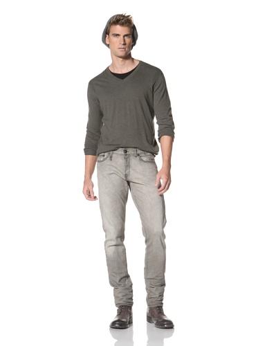 R13 Men's Slim Classic Jean (Grey)