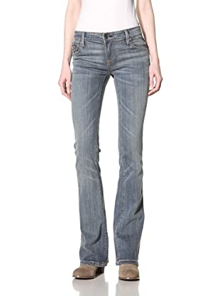 Jimmy Taverniti Women's Bootcut Jean (Vintage Dirty)