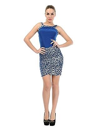 Via Bellucci Vestido Ariana (Azul)