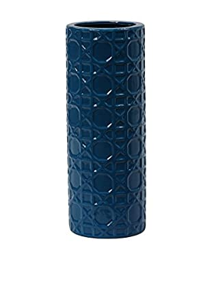 Privilege International Small Ceramic Vase, Blue