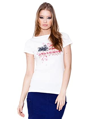 Esprit Camiseta Boat (crema)