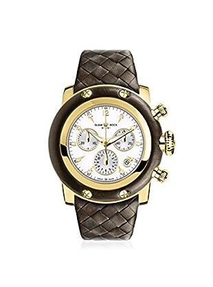 Glam Rock Women's GR11122 Miami Brown/White Genuine Leather Watch