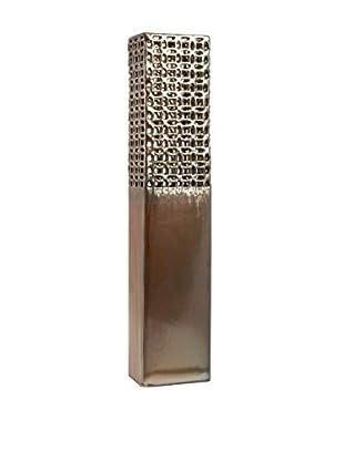 Zorion Cutwork Ceramic Vase