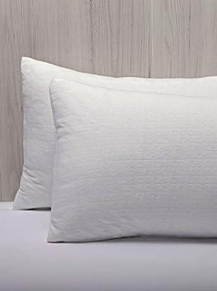 Pikolin Home Almohada Fibra Elástica Antiácaros (Blanco)