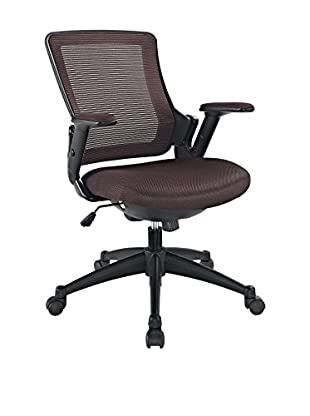 Modway Aspire Fabric Office Chair (Brown)